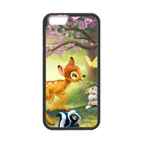 Bambi Ii 008 coque iPhone 6 Plus 5.5 Inch cellulaire cas coque de téléphone cas téléphone cellulaire noir couvercle EOKXLLNCD26592
