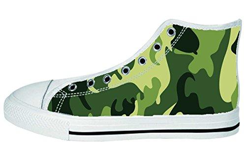 Damesschoenen Hoge Top Schoenen Art Design Pattern Shoes09
