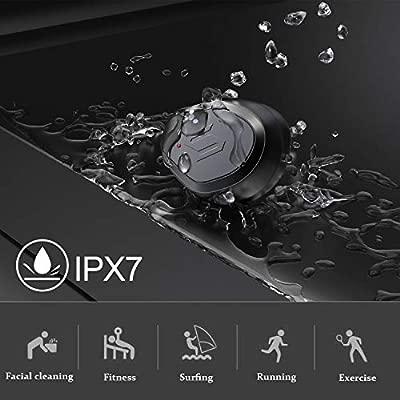 Auriculares Bluetooth, Auriculares Inalámbricos Bluetooth 5.0 con Mini Twins Estéreo In-Ear Deportivos Auriculares con Micrófono Incorporado IPX7 con ...