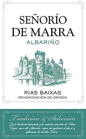 Señorío de Marra Albariño Rías Baixas Vino Blanco