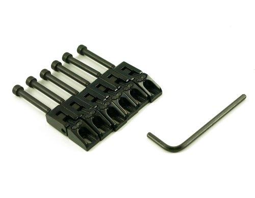 GRAPH TECH® STRING SAVER® CLASSIC FLOYD ROSE SADDLES (6PCS) BLACK