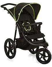 Hauck Runner Driewieler Jogger Buggy, Vanaf De Geboorte, Tot 25 kg, Zwart/Neon-Geel