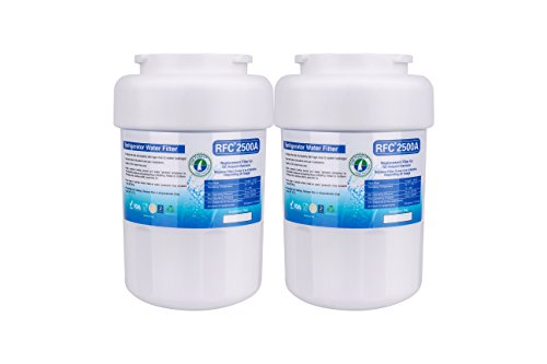 OnePurify RFC2500A2PK MWF Smart Water Compatible Refrigerator Filter (Brita Ge Mwf)
