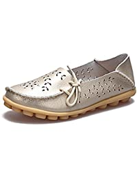 Plus Size 2018 Ballet Summer Cut Out Women Shoes Flat Casual Fashion Loafer