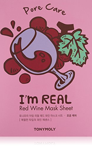 TONYMOLY I'm Real Red Wine Sheet Mask