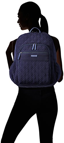 Women's Campus Tech Backpack, Microfiber, Classic Navy
