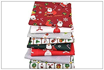 8 Ideales telas Navideñas para vestiditos, cocinas, cojines, costura, colchas, toallas