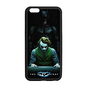 The Dark Knight Batman Joker Case Custom Durable Hard Cover Case for iPhone 6 Plus - 5.5 inches case - Black Case by mcsharks