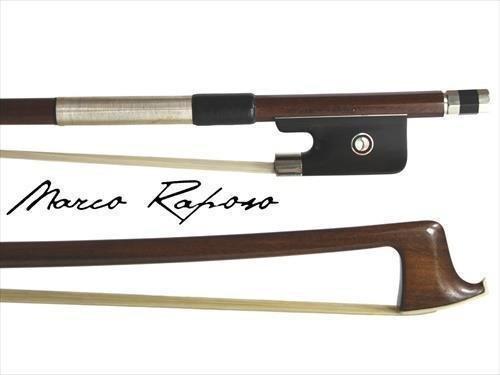 Marco Raposo AB031 Nickel 4/4 Pernambuco Viola Bow Hand Made In Brazil