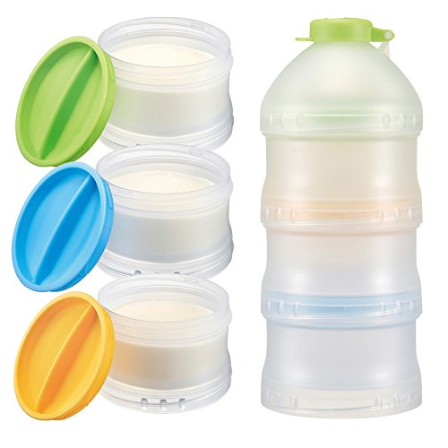 Powder Formula Dispenser - Simba Twist-Lock Stackable Formula Dispenser and Snack Containers