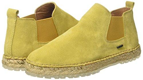Shabbies Espadrilles Boot dark Women''s Ankle Mustard Yellow 6018 qqBPa4wR