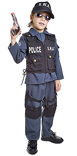 Swat Costume S W A T (Deluxe S.W.A.T. Officer Kids Costume)