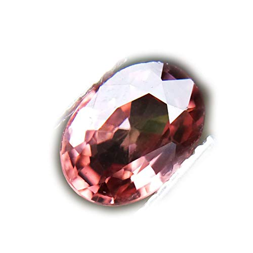 Lovemom 1.38ct Natural Oval Unheated Pink Zircon - Natural Ct 1.38