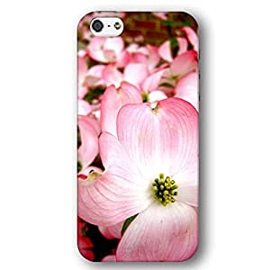 Pink Dogwood Tree Flowers For Ipod Touch 5 Case Cover lim Phone Case