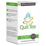 Quit Tea Herbal Stop Smoking Tea, 20 Tea Bags (1 Week Supply)