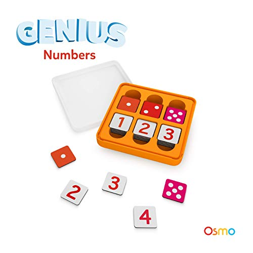 Osmo - Genius Numbers Game - Ages 6-10 - Math Equations & Confidence - for iPad and Fire Tablet (Base Required) (The Number Game)