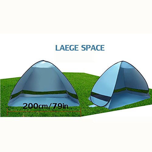 BeachTent HmiL-U Outdoor Automatic Pop up Beach Tent Instant Portable Quick Cabana Family Beach Tent with ...  sc 1 st  Hiking Gear Store & HmiL-U Outdoor Automatic Pop up Beach Tent Instant Portable Quick ...