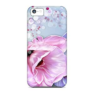 Awesome Summer Song Flip Case With Fashion Design For Iphone 5c
