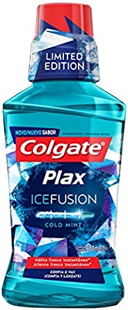 Enxaguante Bucal Colgate Plax Ice Fusion Cold Mint 250 Ml