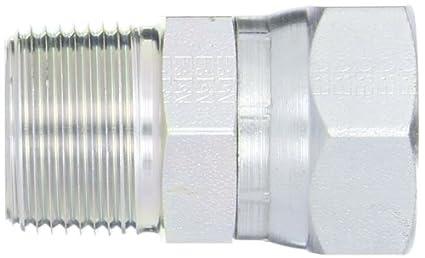 Swivel 3//4 NPT Male x 1 JIC Female Adapter Flare-Twin Fitting JIC Eaton Weatherhead 9100X16X12 Carbon Steel SAE 37 Degree