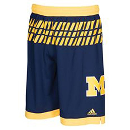 - Michigan Wolverines Adidas March Madness Youth Shorts (Large)