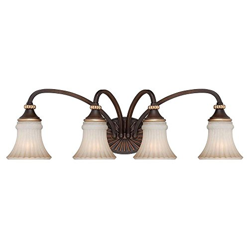 Hampton Bay 15364 Reims 4-Light Vanity Fixture
