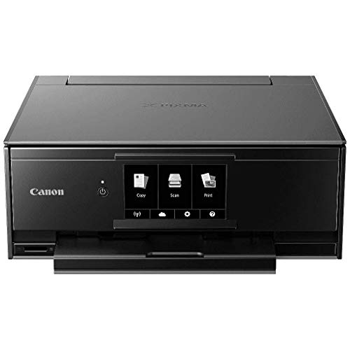 Canon TS9120 Wireless All-in-One Printer with Scanner and Copier: Mobile and Tablet Printing, with AirPrint and Google Cloud Print Compatible, Black, 14.2 x 14.7 x 5.6 inches by Canon (Image #4)