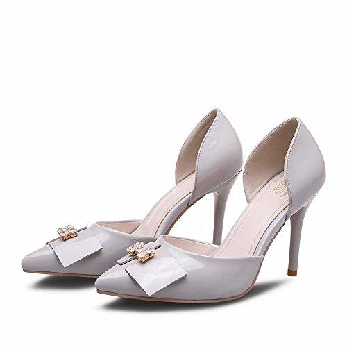 Adee - Sandalias de vestir para mujer gris