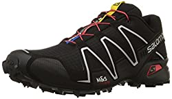 Salomon Men's Speedcross 3 Trail Running Shoe,blackblacksilver Metallic-x,9 M Us