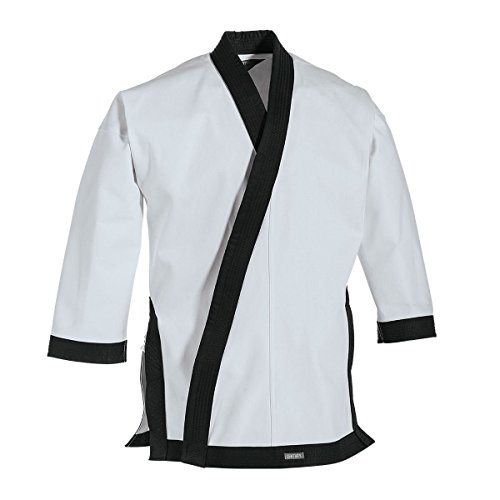 Century 12 oz. Traditional Tang Soo Do Jacket with Cuffs Navy Blue size 6