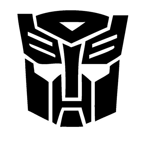 Laptop Autobot - Transformers Autobots Symbol, Red, 12 Inch, Die Cut Vinyl Decal, For Windows, Cars, Trucks, Toolbox, Laptops, Macbook-virtually Any Hard Smooth Surface
