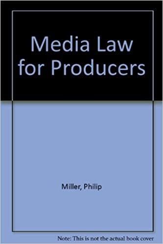 media law for producers miller philip