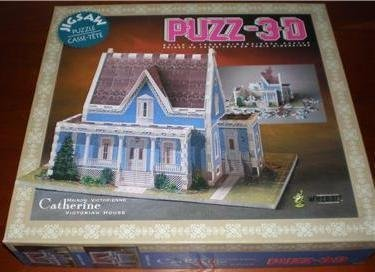Puzz-3D Catherine Victorian House Jigsaw Puzzle by puzz 3d