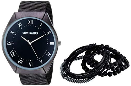 Steve Madden Fashion Watch (Model: SMWS060BK) from Steve Madden