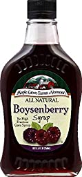 Maple Grove Farms Boysenberry Flavored Syrup, 8.5 oz