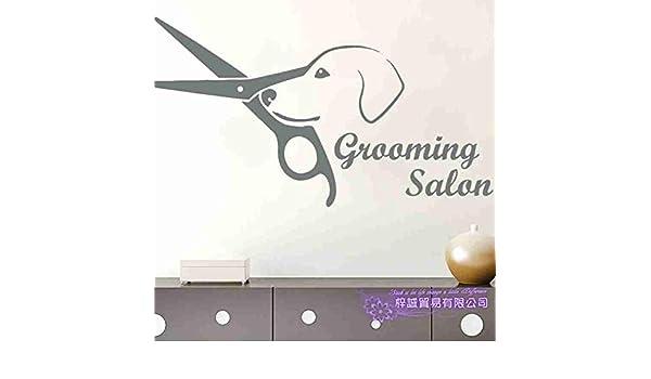 yiyiyaya Dog Grooming Salon Pet Shop Sticker Decal Posters ...
