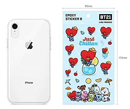 BTS BT21 Official Stickers Version B Lap TOP Decal Stickers CHIMMY BTS PHOTOCARDS Random