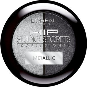 Amazon.com : Loreal Hip Metallic Shadow Duo Platinum 906 New Color ...