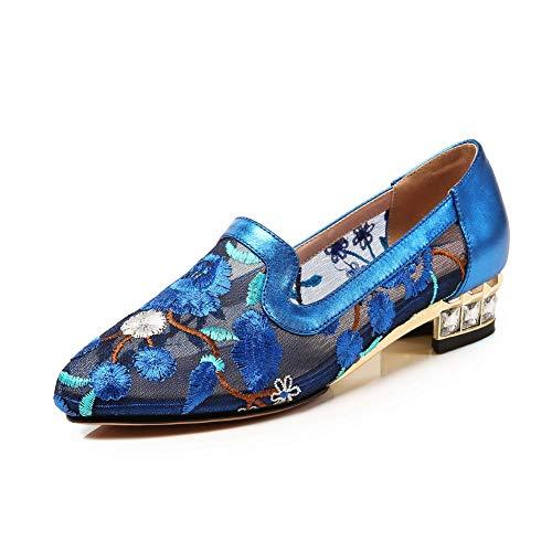 Donna BalaMasa Zeppa APL11028 35 Sandali Blu Blue con PnaUHzT