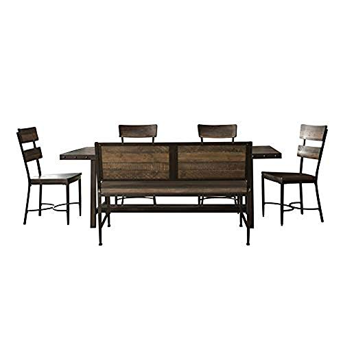(Hillsdale Jennings 6-Piece Dining with Bench )