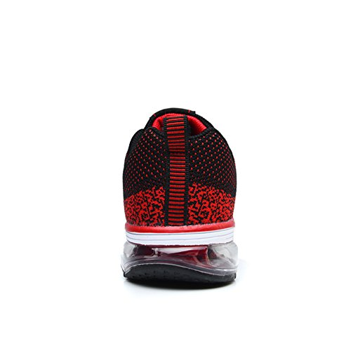 Casual Donna Uomo da Rosso Sportive Corsa TORISKY Running Scarpe Ginnastica Unisex Sneakers Fitness Air BwqxzPH