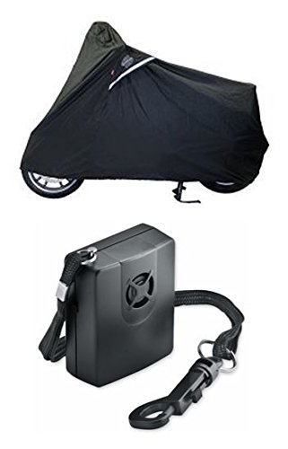 Guardian By Dowco - WeatherAll Plus Scooter Cover - with Dowco's Integrated 130 Decibel Alarm System (Cover Motorcycle Weatherall Plus)