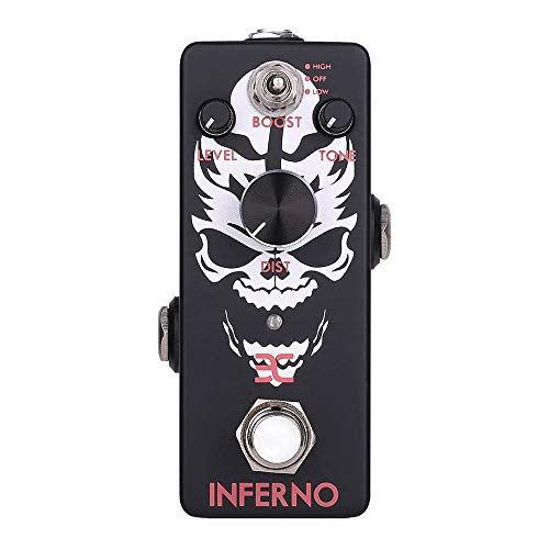 EX-Inferno Metal Distortion Pedal Mini Format for Shrill Metal Leads