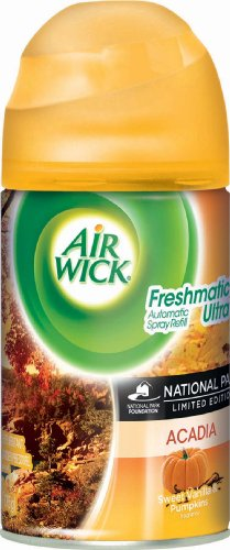 Air Wick Freshmatic Automatic Spray Air Freshener, National Park Collection, Acadia, 1 Refill 6.17 ()