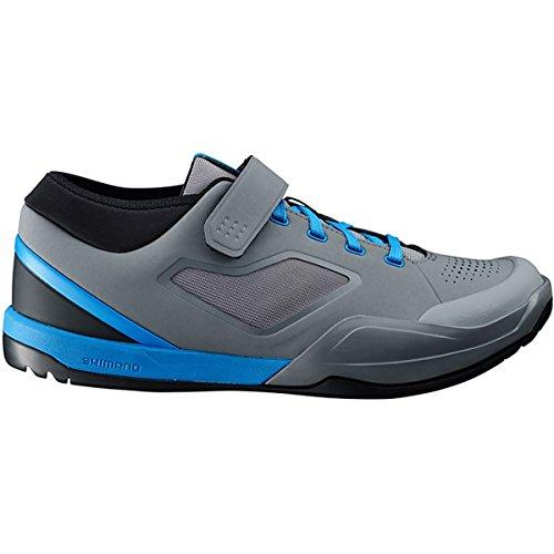 SHIMANO SH-AM7 Mountain Bike Shoes - Men\'s Grey/Blue; 43.0