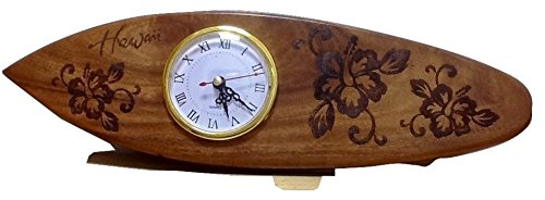 - Koa Wooden Clock Hand Carved