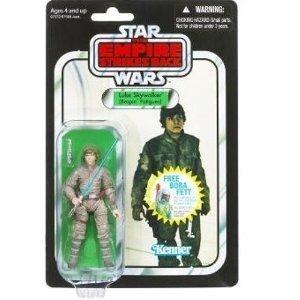 Star Wars Hasbro 2010 Vintage Style Luke Skywalker (Bespin Fatigues) Action Figure by Star Wars