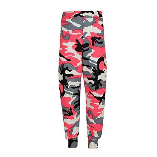 Enfants Âge 4 Ans A2z Filles 6 Top 10 11 Néon Lounge Loungewear Costume 13 Jogsuit 5 12 Kids Camouflage Bottom 9 3 7 Rosé 2 8 PEEdwq