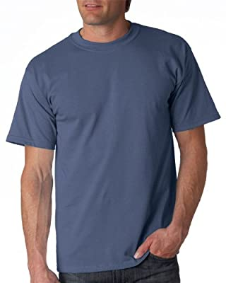 Gildan Adult Ultra Cotton T-Shirt, Indigo Blue, Medium. 2000