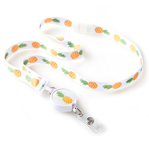 Pineapple Ribbon Lanyard